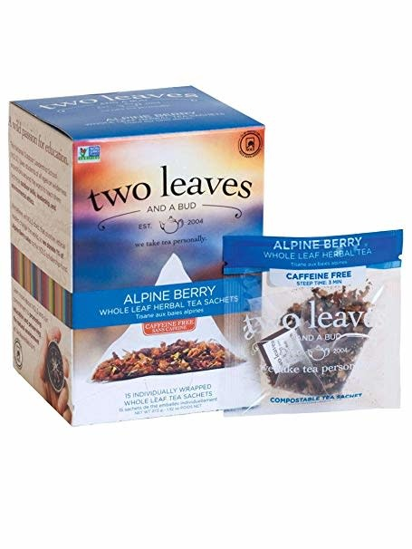 Two Leaves and a bud-Alpine Berry tea sachets 15ct-1