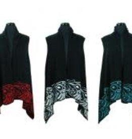 Knit Vest-Bill Helin Hummingbird