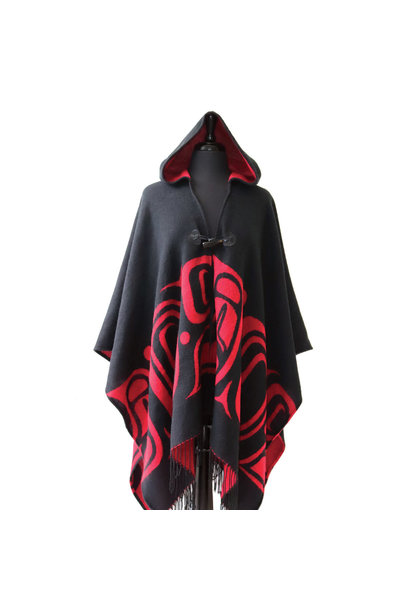 Hooded Fashion Wrap