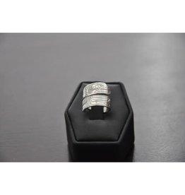 Silver Wrap Ring-Eagle 56EA