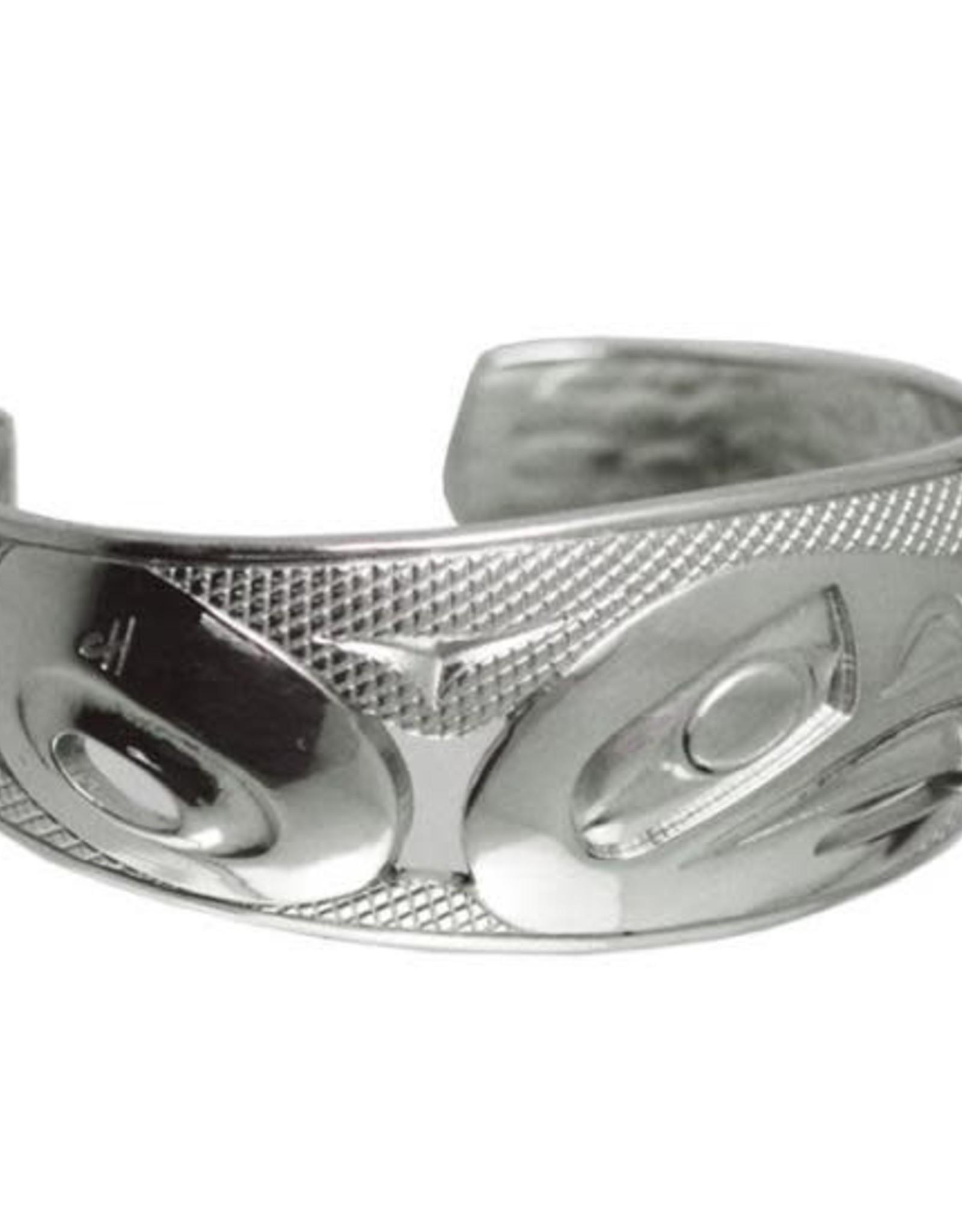 """Silver Pewter Bracelet 8"""" Eagle - Corrine Hunt"""