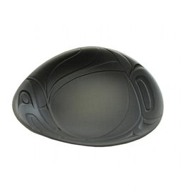Free Form Bowl-Large/Olive Green