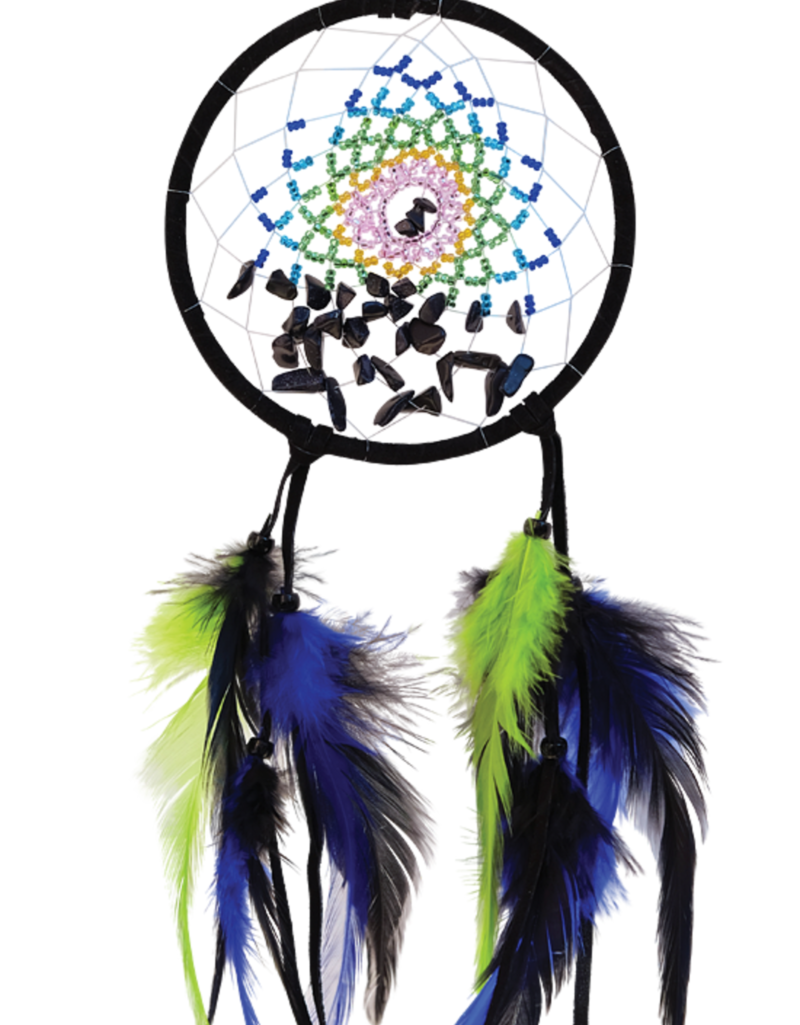 """Dream Catcher 4"""" with crystal"""