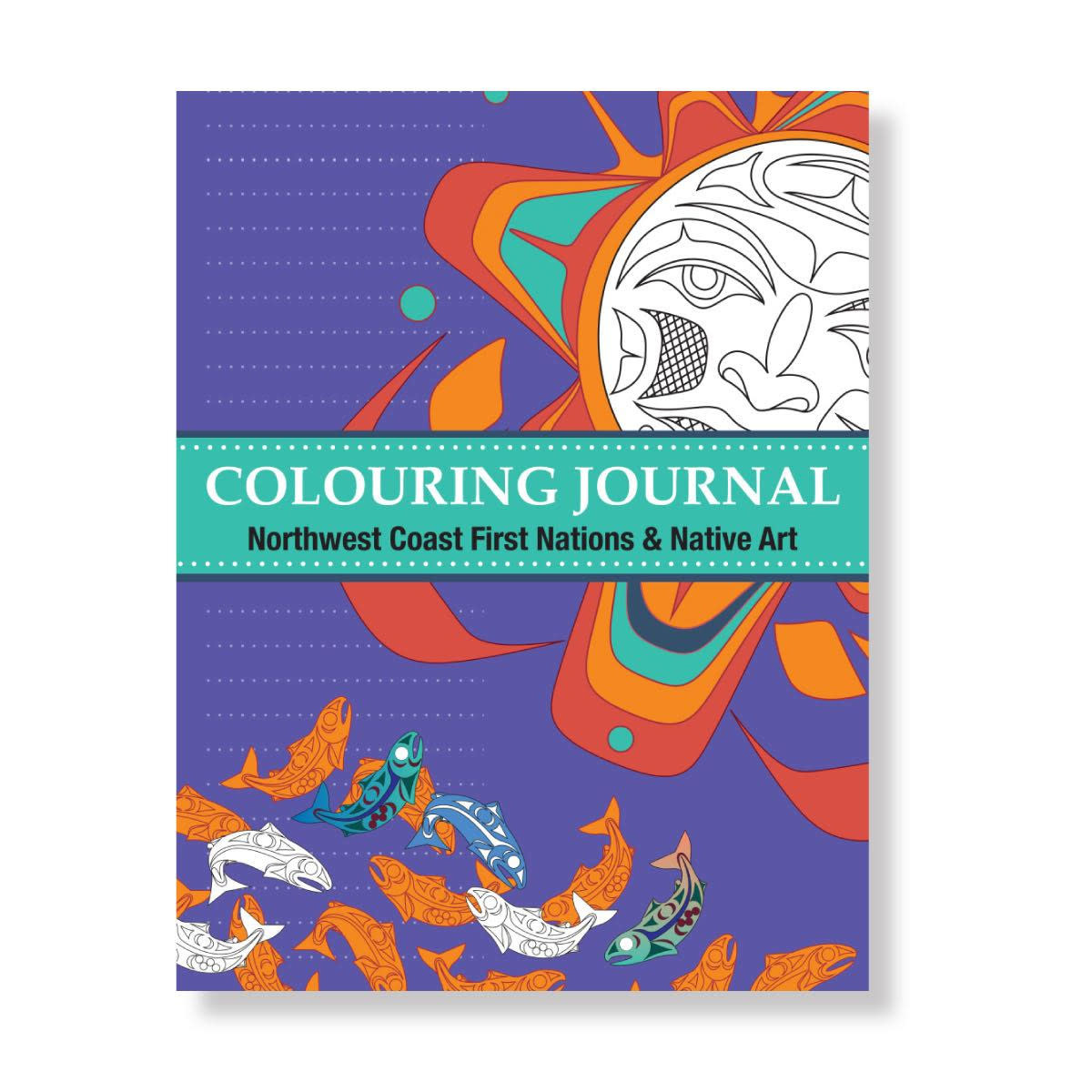 Colouring Book - Northwest Coast First Nations & Native Art-1