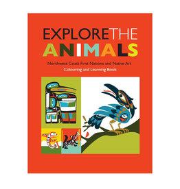 Colouring Book - Explore the animals