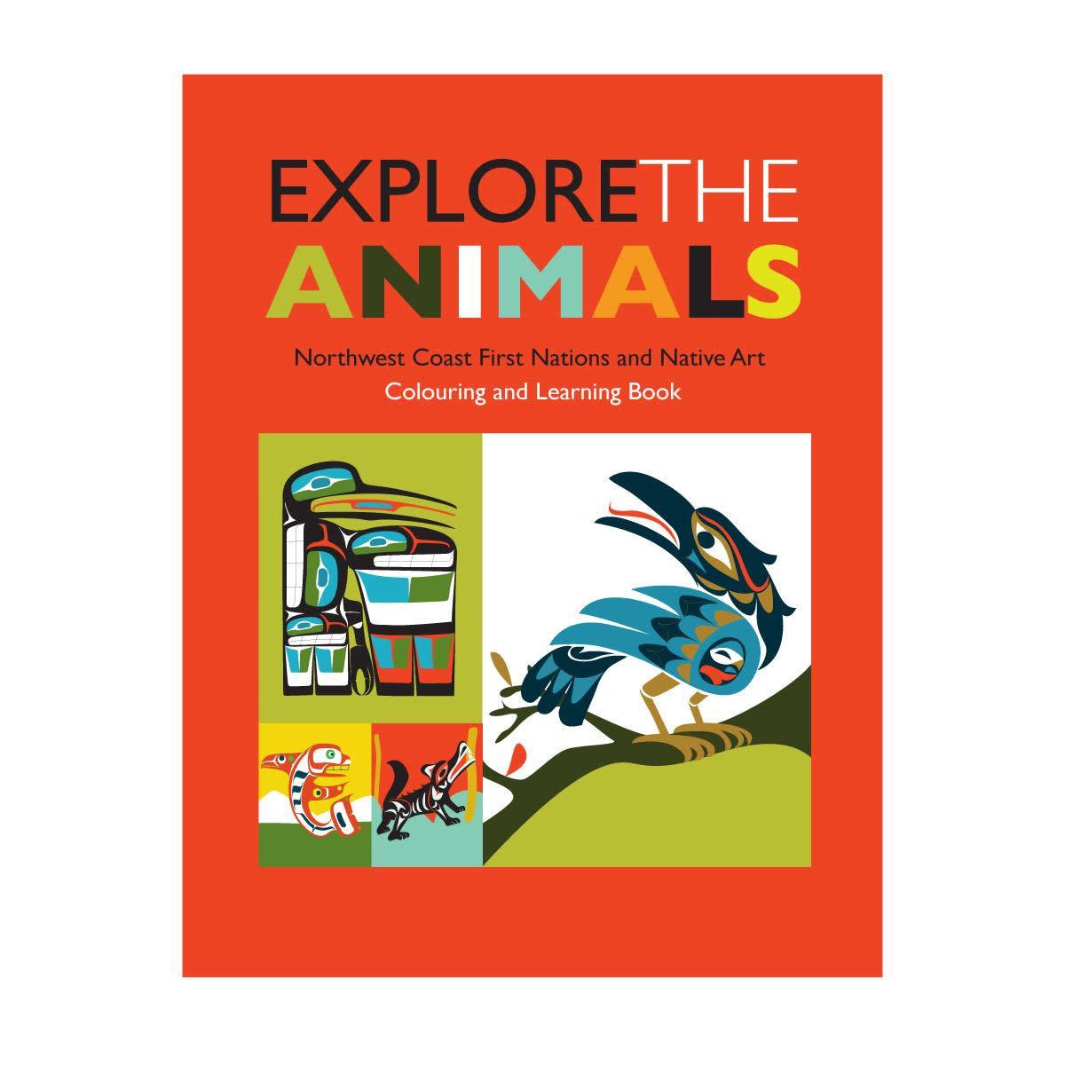 Colouring Book - Explore the animals-1