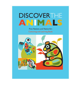 Colouring Book - Discover the animals
