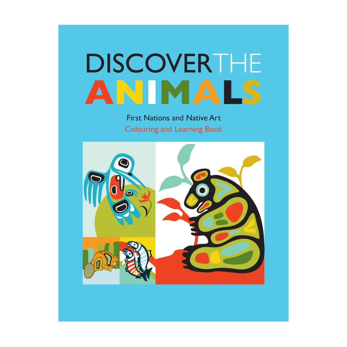 Colouring Book - Discover the animals-1