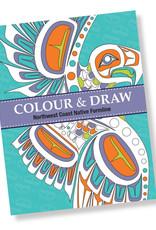 Colouring Book - Colour & Draw: Northwest Coast Native Formline