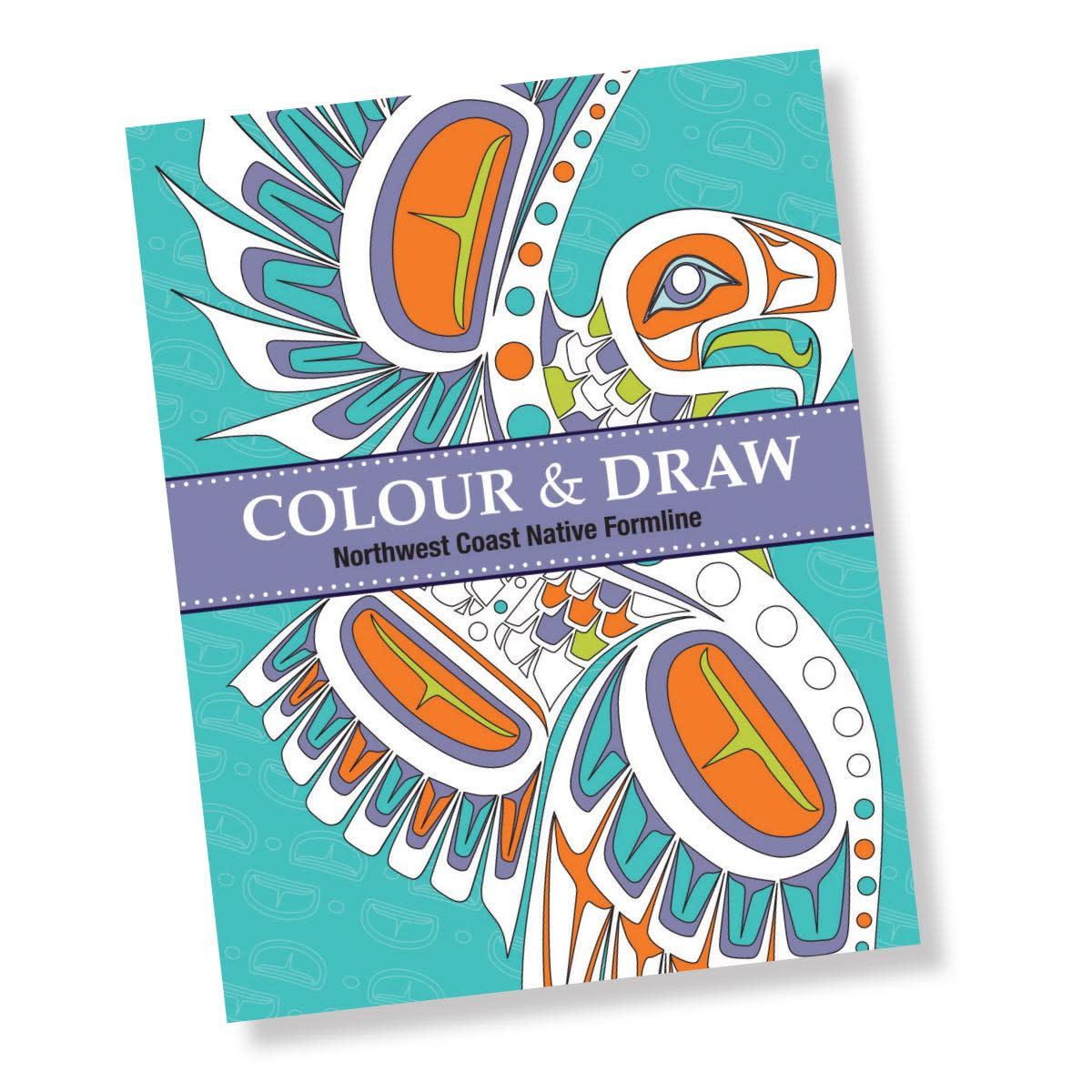 Colouring Book - Colour & Draw: Northwest Coast Native Formline-1