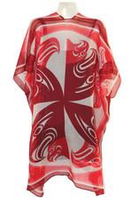 Sheer Fashion Wrap-Eagle Circle by Francis Horne Sr.