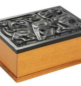 Desk Box with Black inlay