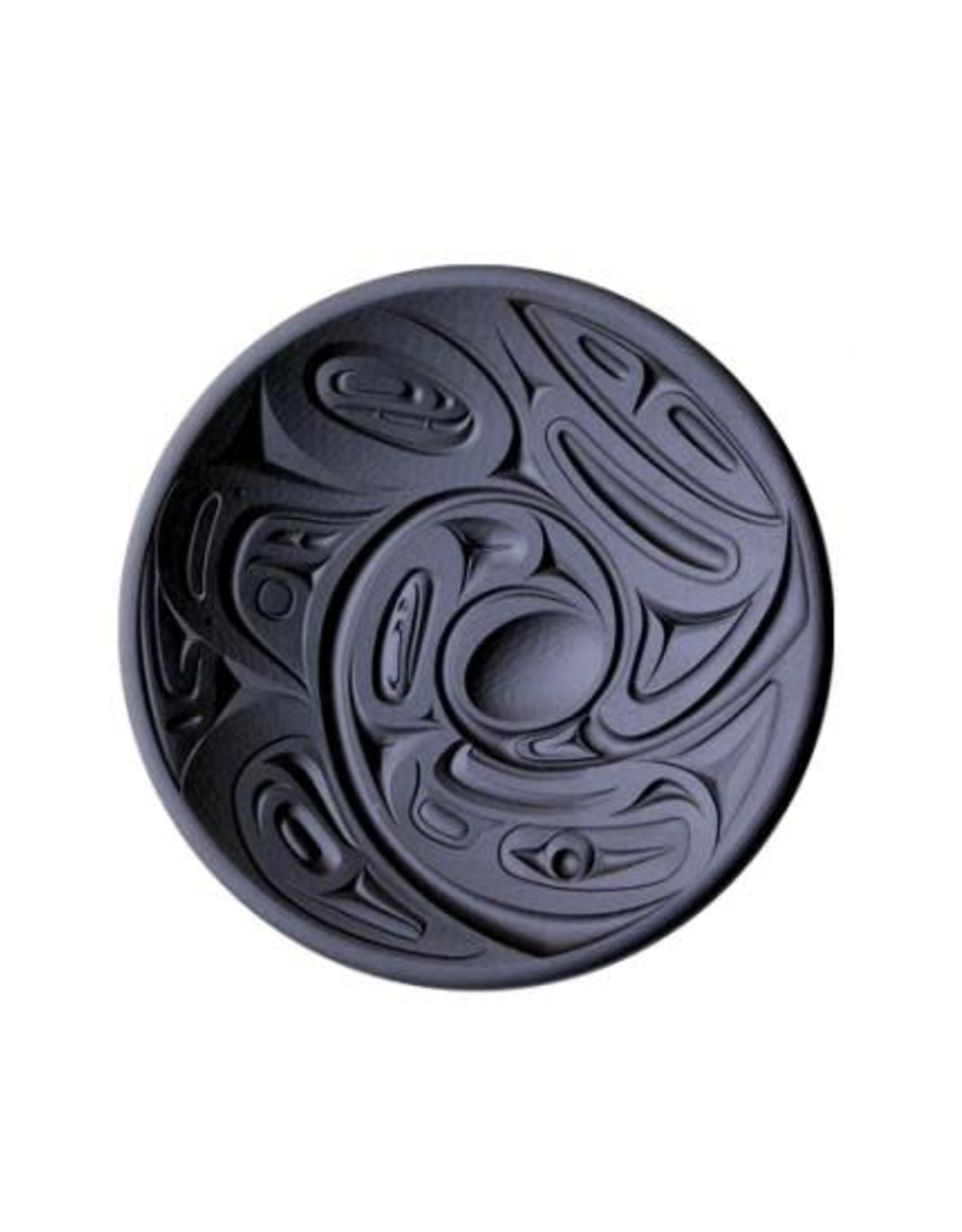 """Eagle Orca Round Platter - 12"""""""