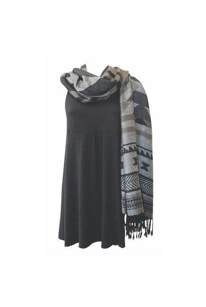 Shawl - Salish Weaving By Leila Stogan