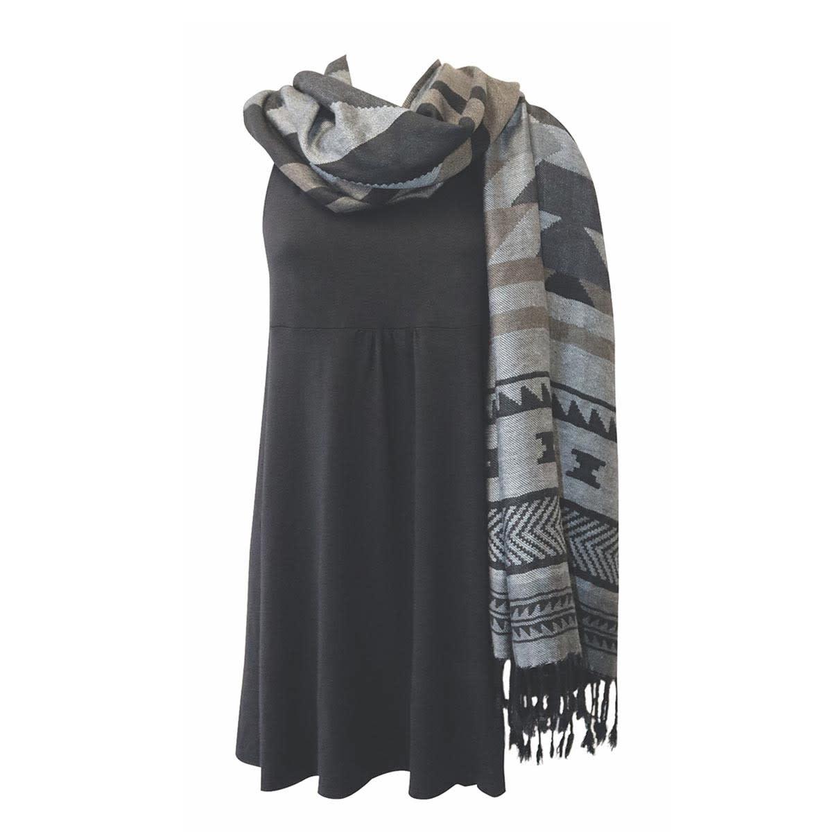 Shawl - Salish Weaving-1