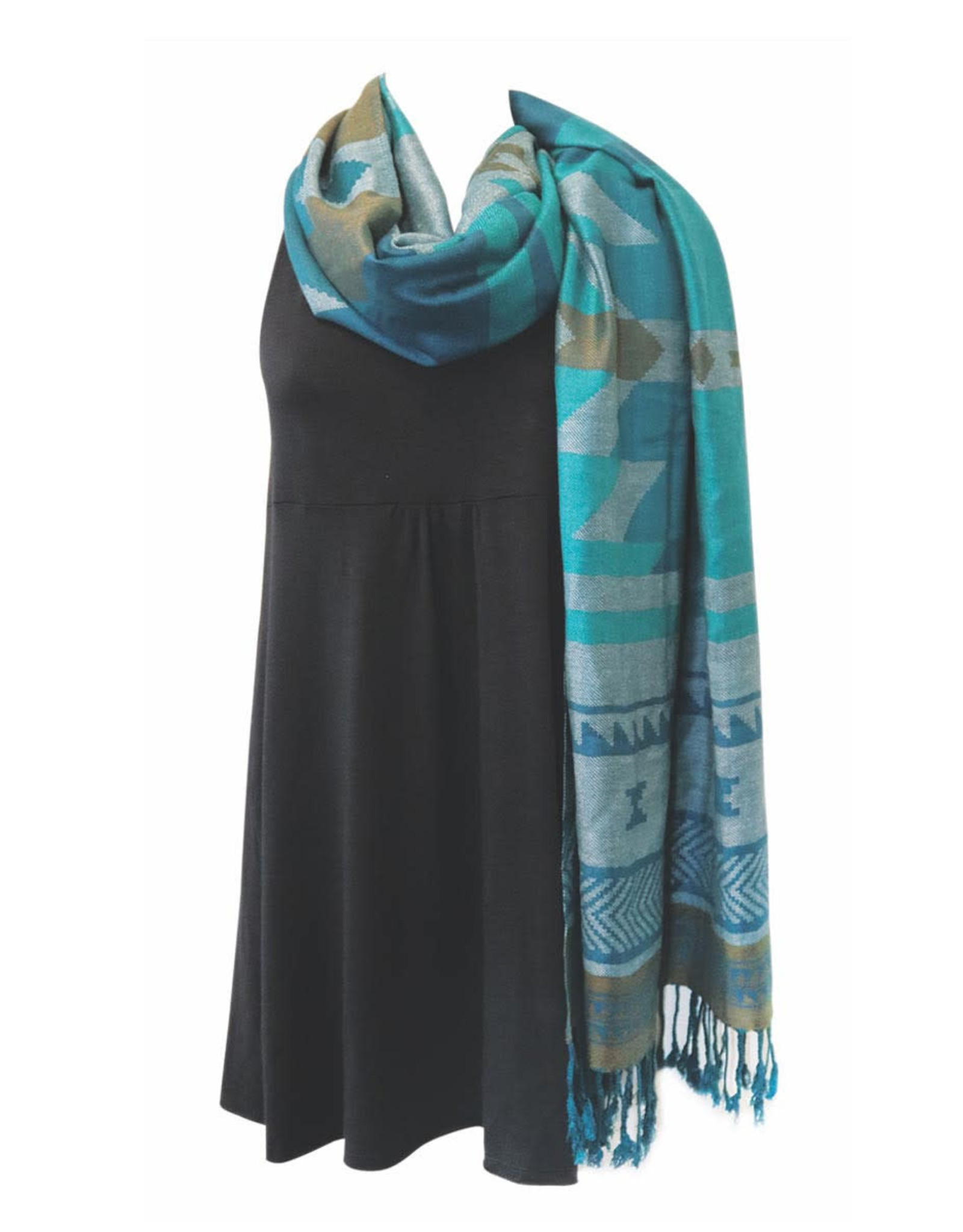 Shawl - Salish Weaving
