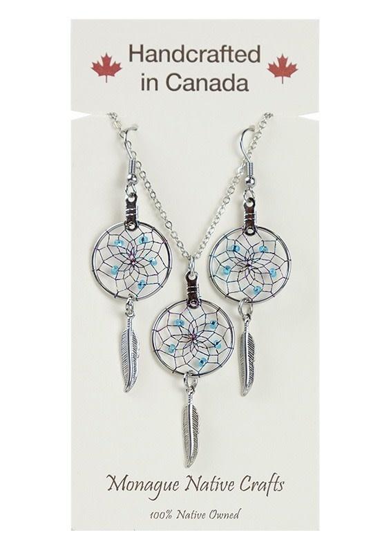 Dream Catcher Jewelry Set-1