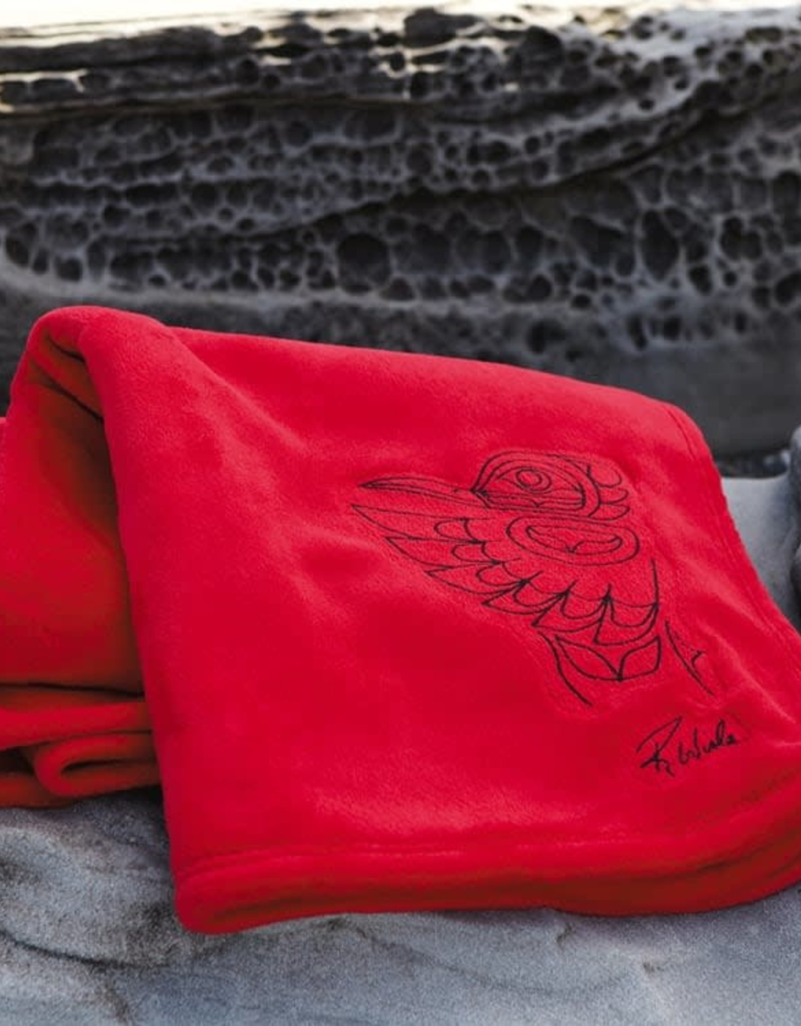Kanata Velura Embroidered Blanket
