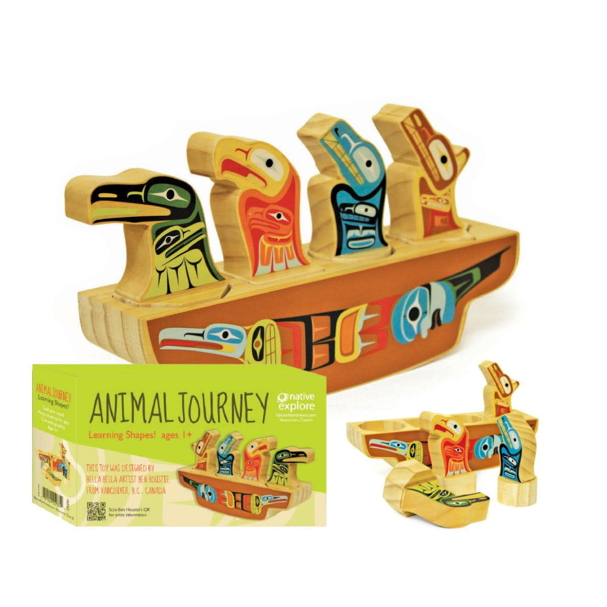 Learning Shapes-Animal Journey by Ben Houstie-1