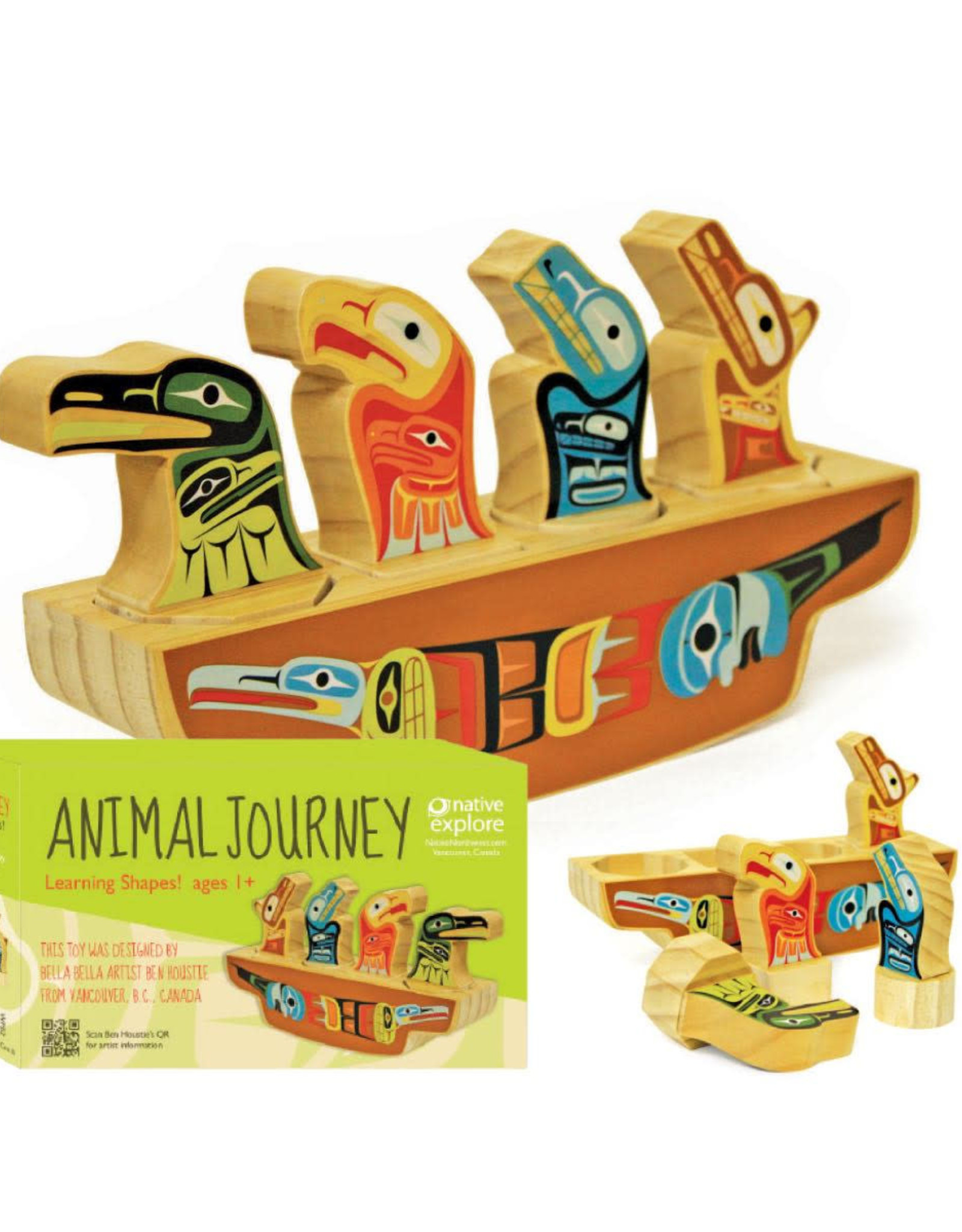 Learning Shapes-Animal Journey by Ben Houstie