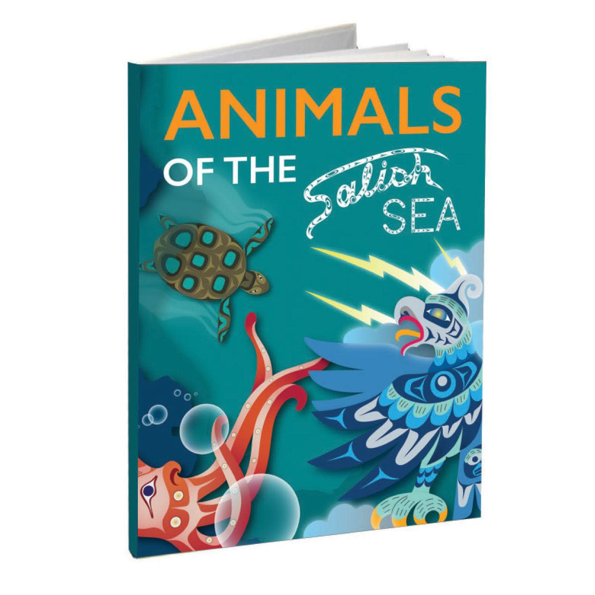Animals of the Salish Sea -Hard Cover-1