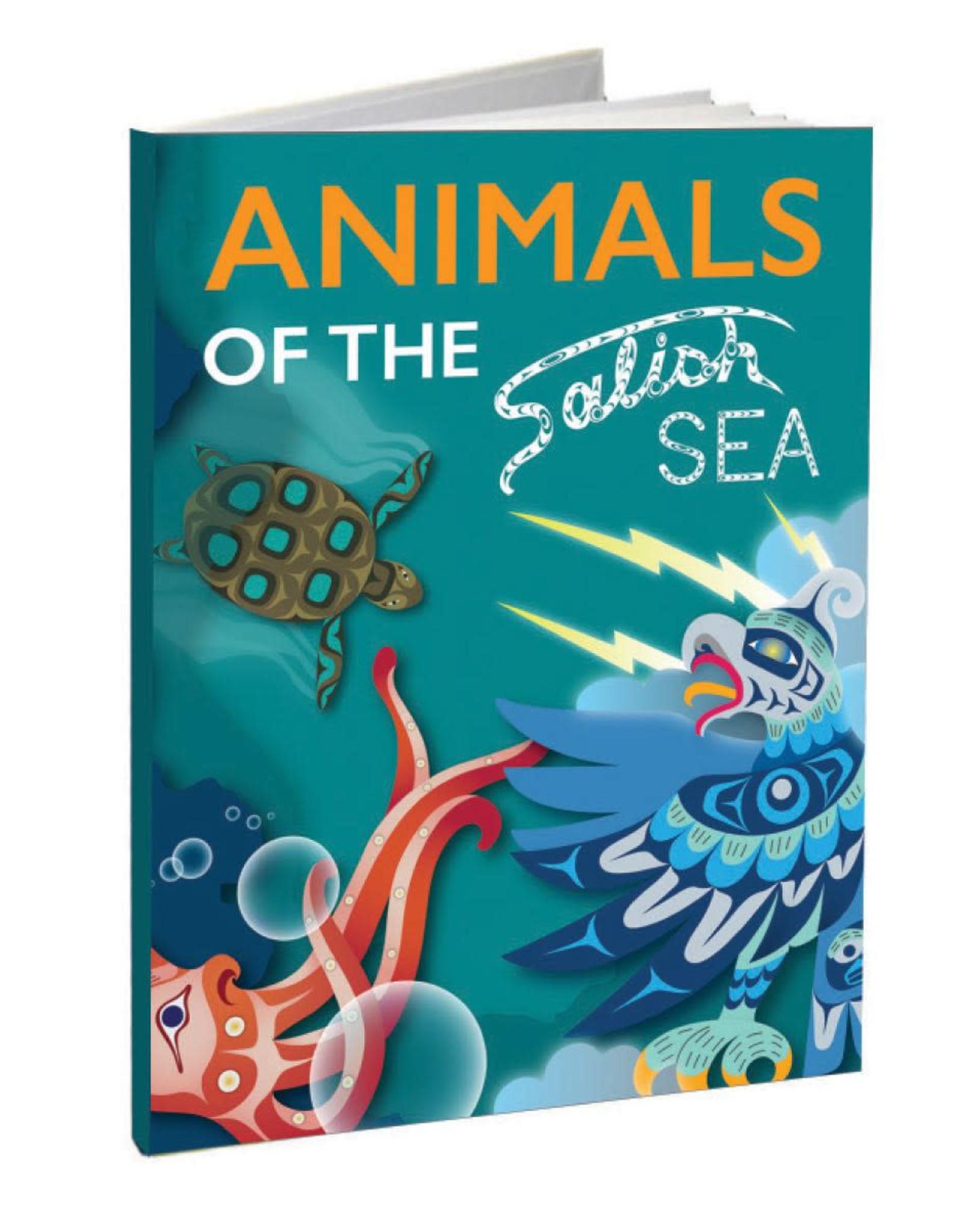 Animals of the Salish Sea -Hard Cover