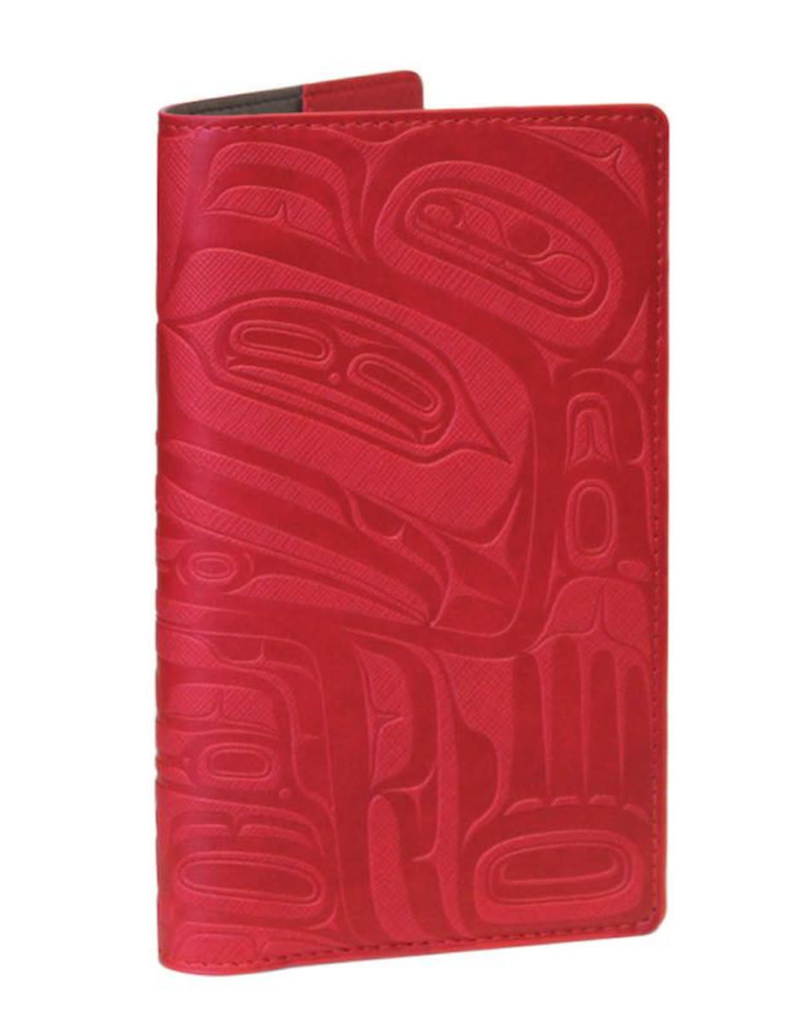 Travel Wallet-Red-Wealth of the Sea-Ernest Swanson