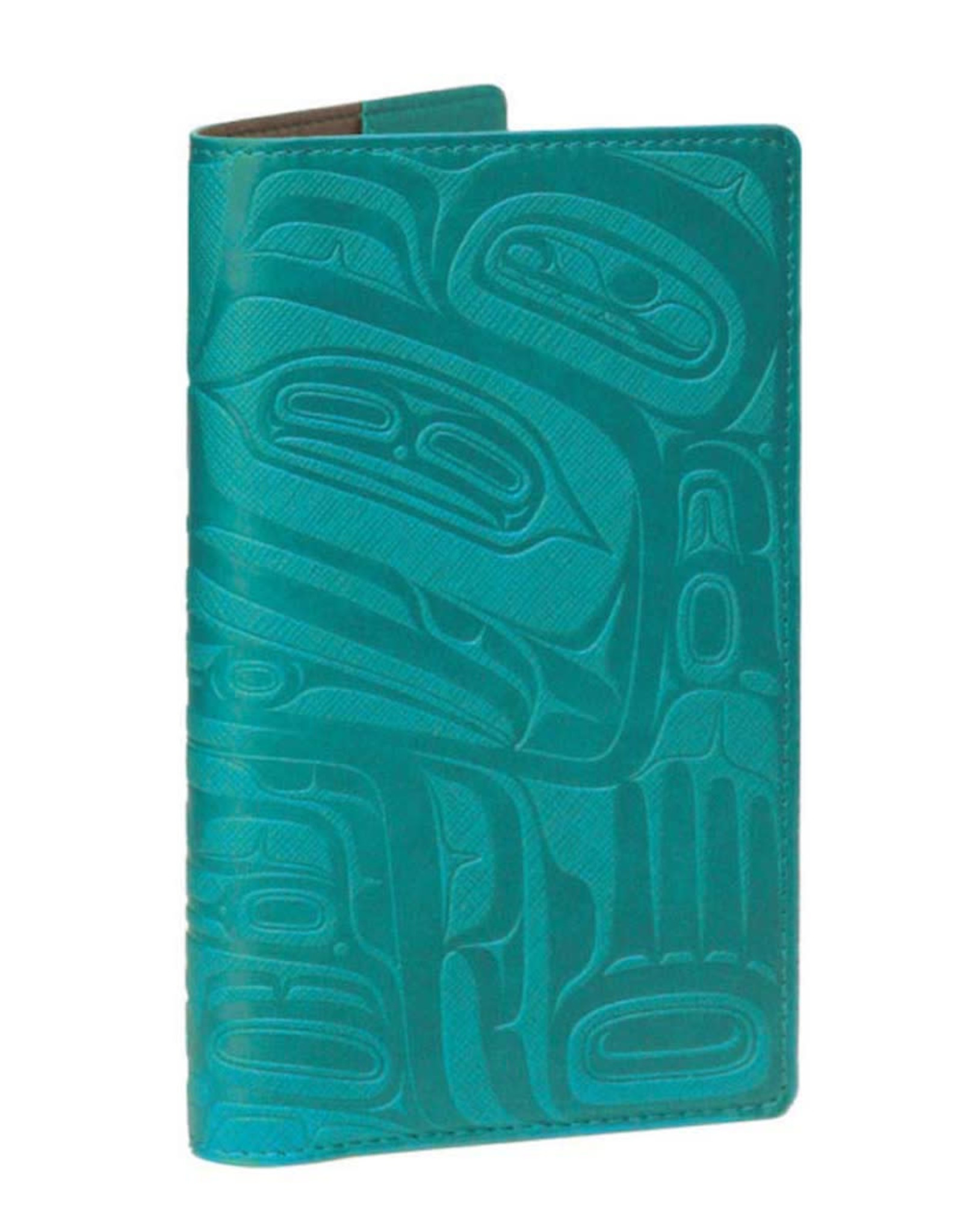 Travel Wallet-Teal-Wealth of the Sea-Ernest Swanson