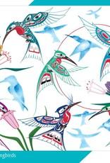Puzzle- Garden Of Hummingbirds-Richard Shorty
