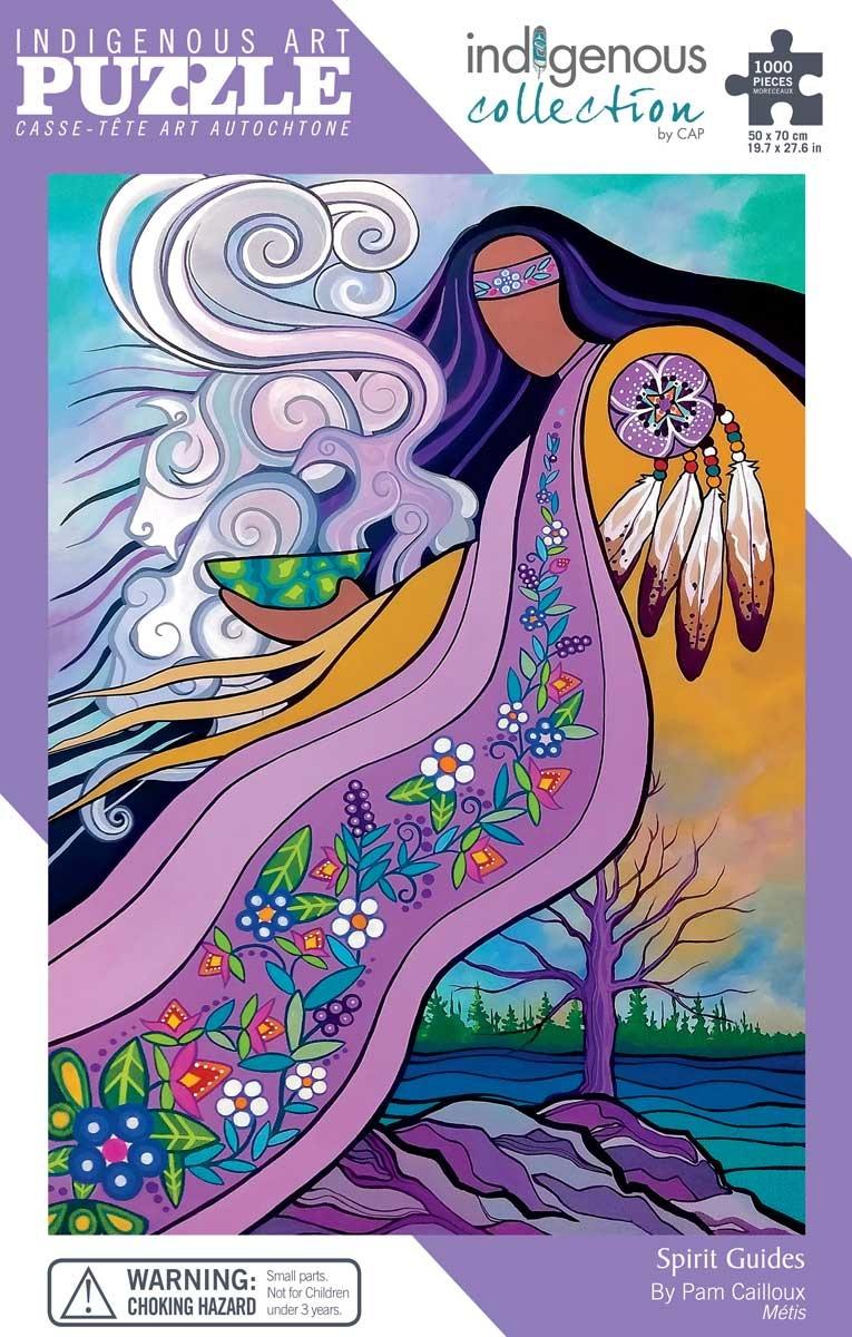 Puzzle- Spirit Guides- Pam Caioux -Metis-1