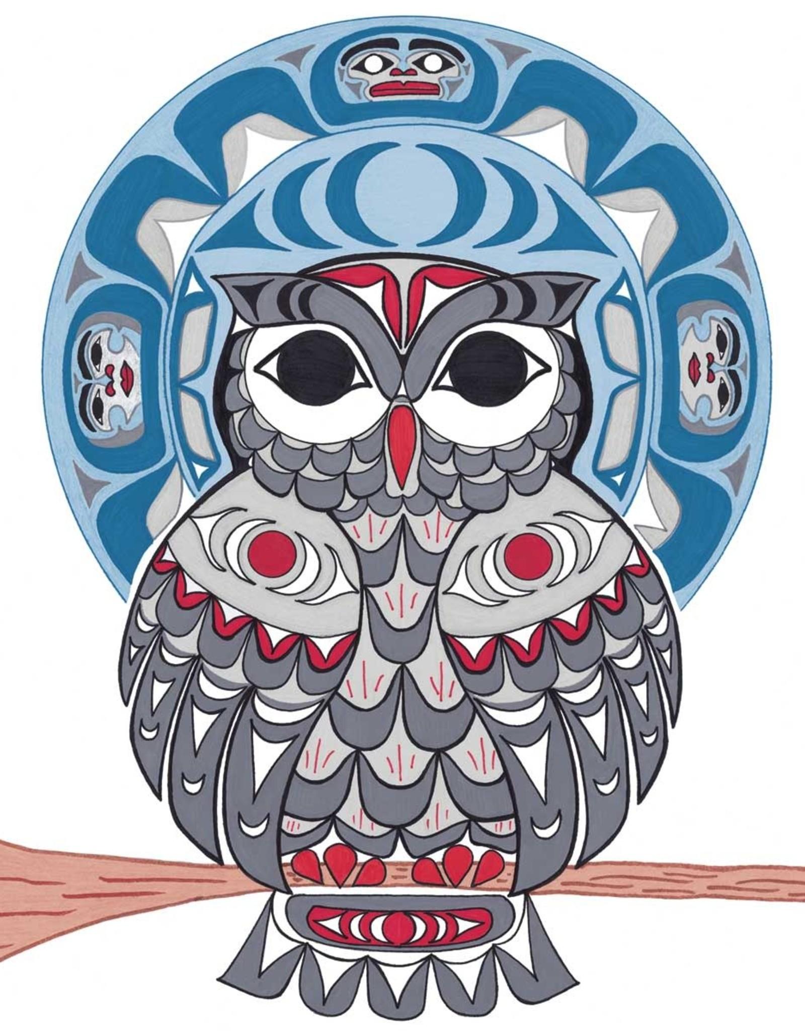 Art Trivet-Owl-Angela Kimble