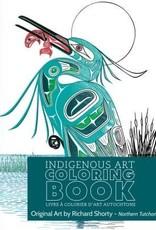 Colouring Book-Richard Shorty- Northern Tutchone