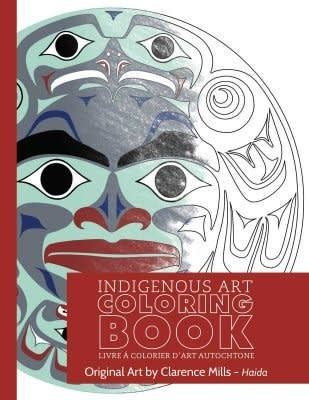 Colouring Book-Clarence Mills-Haida-2