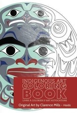 Colouring Book-Clarence Mills-Haida