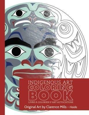 Colouring Book-Clarence Mills-Haida-1