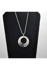 Silver Carved Eagle Pendant - 23N