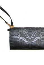 Embossed Fashion Clutch - Raven by Francis Horne Sr.