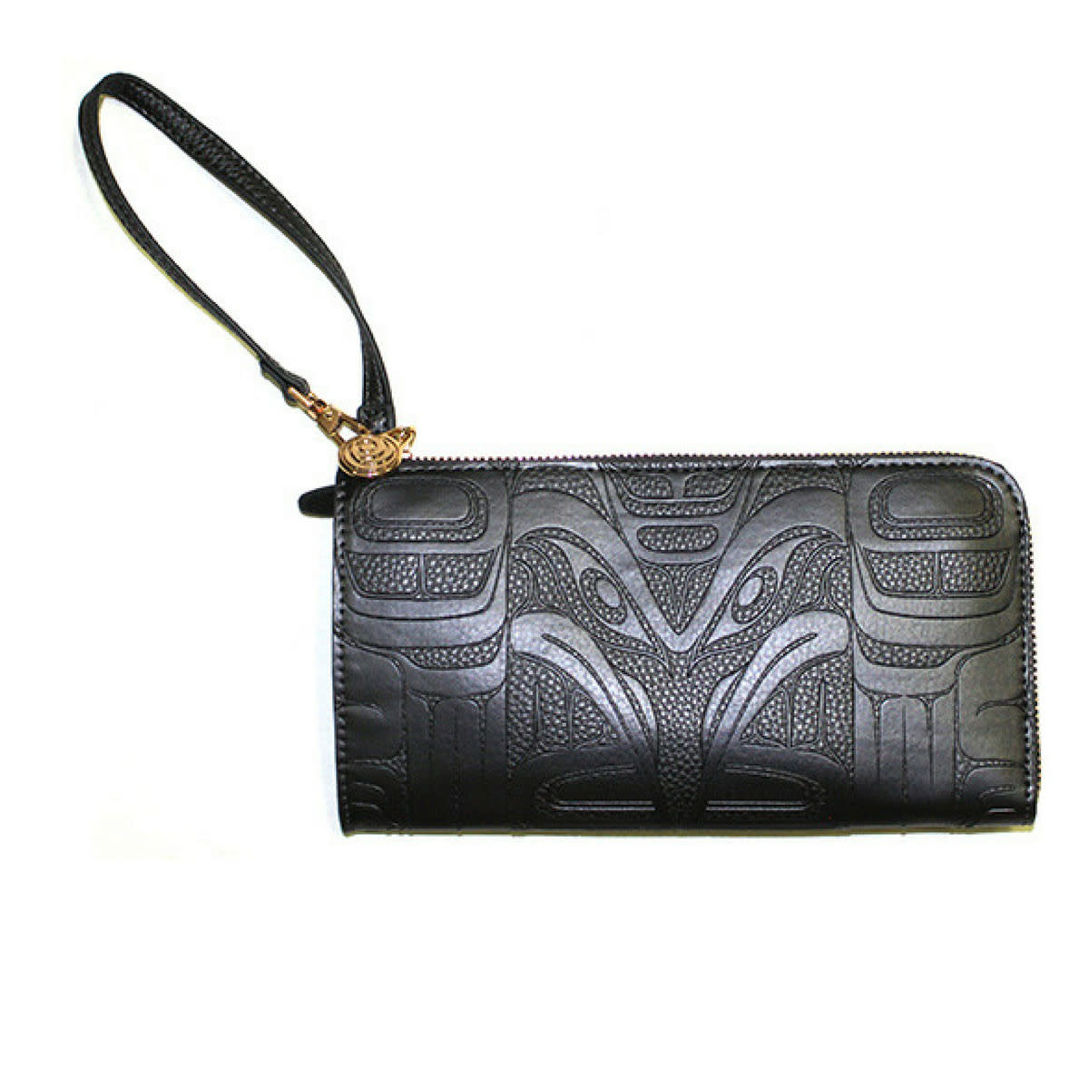 Embossed Fashion Clutch - Raven by Francis Horne Sr.-1