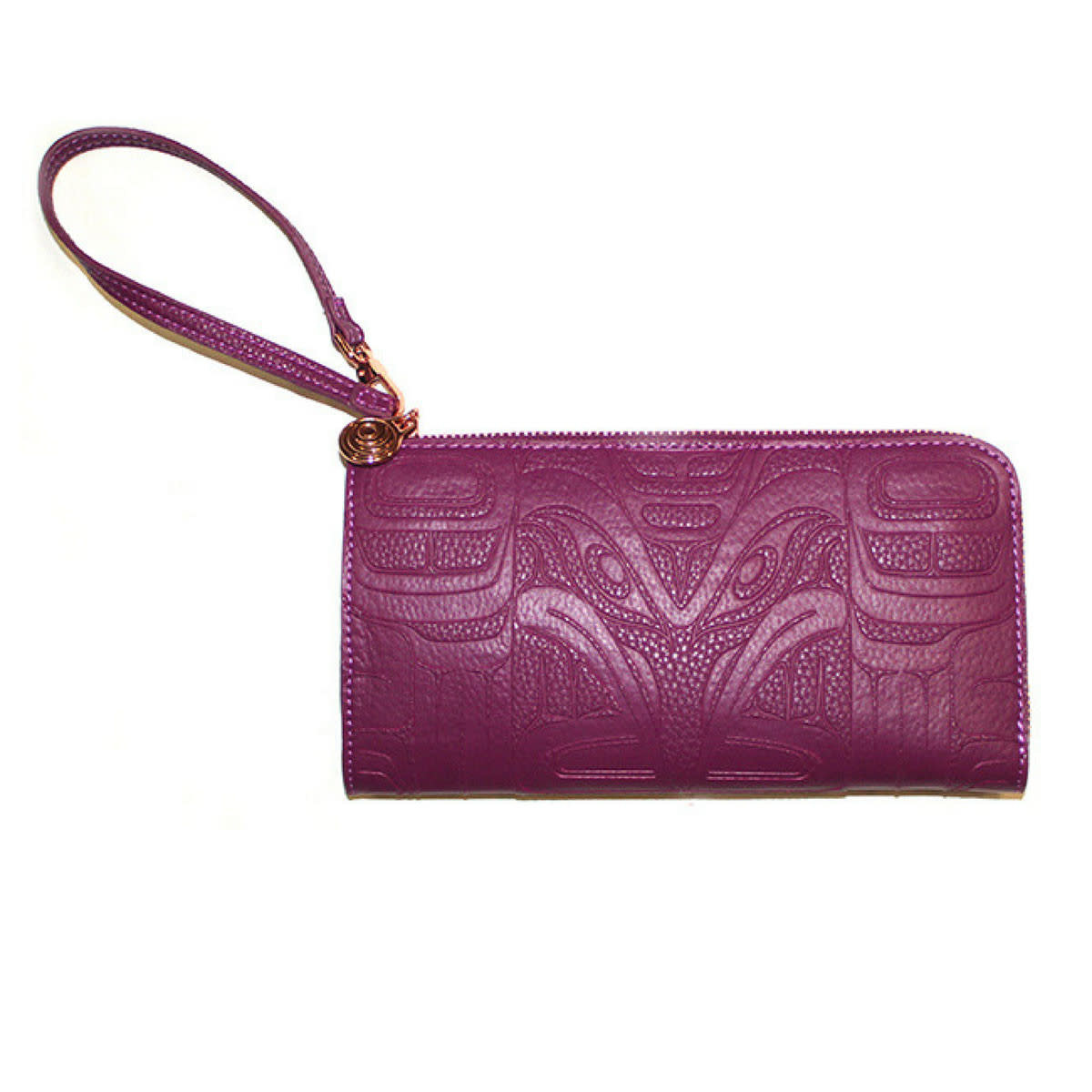Embossed Fashion Clutch - Raven by Francis Horne Sr.-2