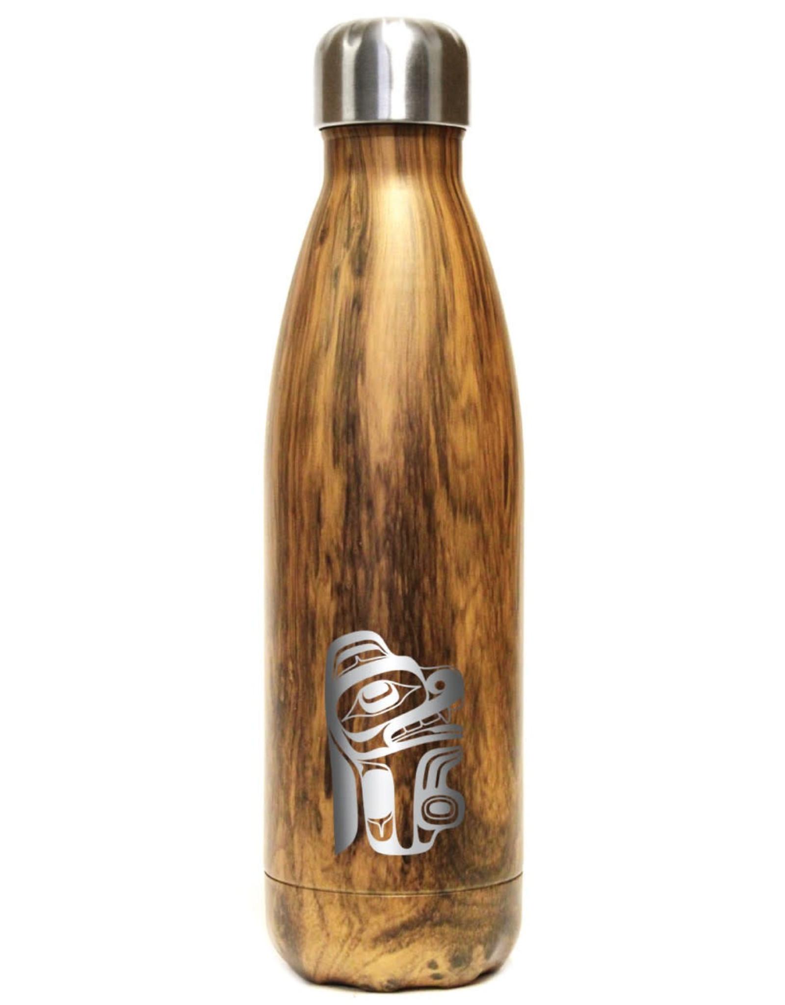 Insulated Water Bottle-Gentle Bear by Earnest Swanson