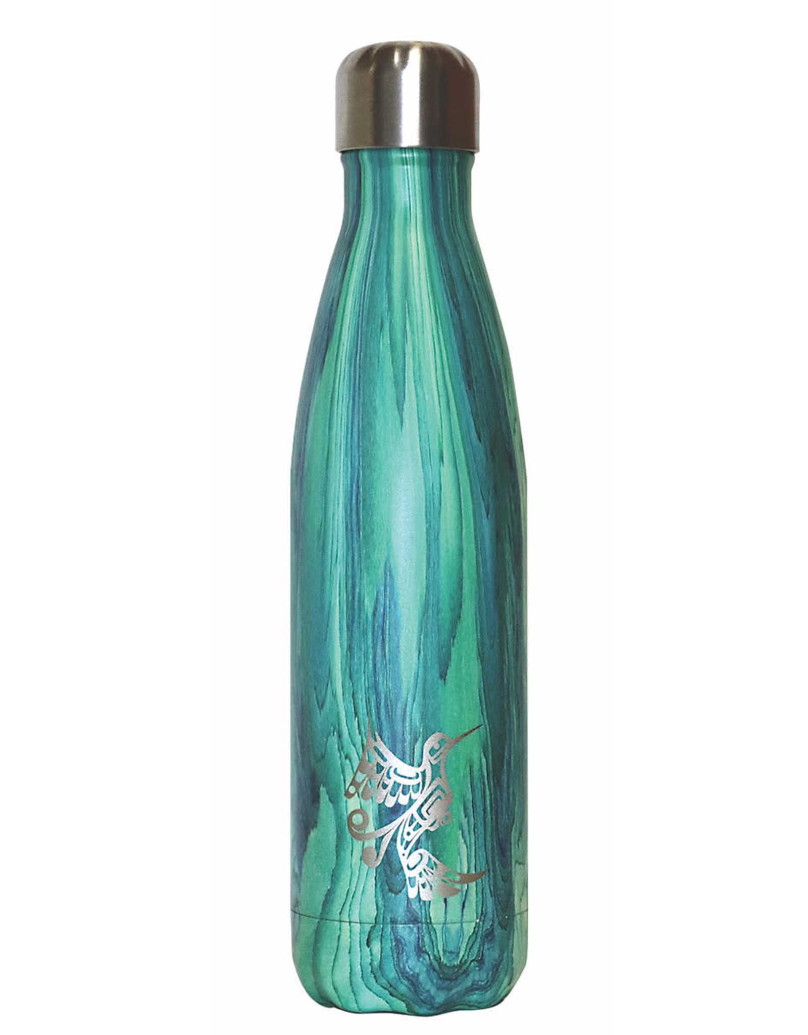 Insulated Bottle - Hummingbird by Francis Dick