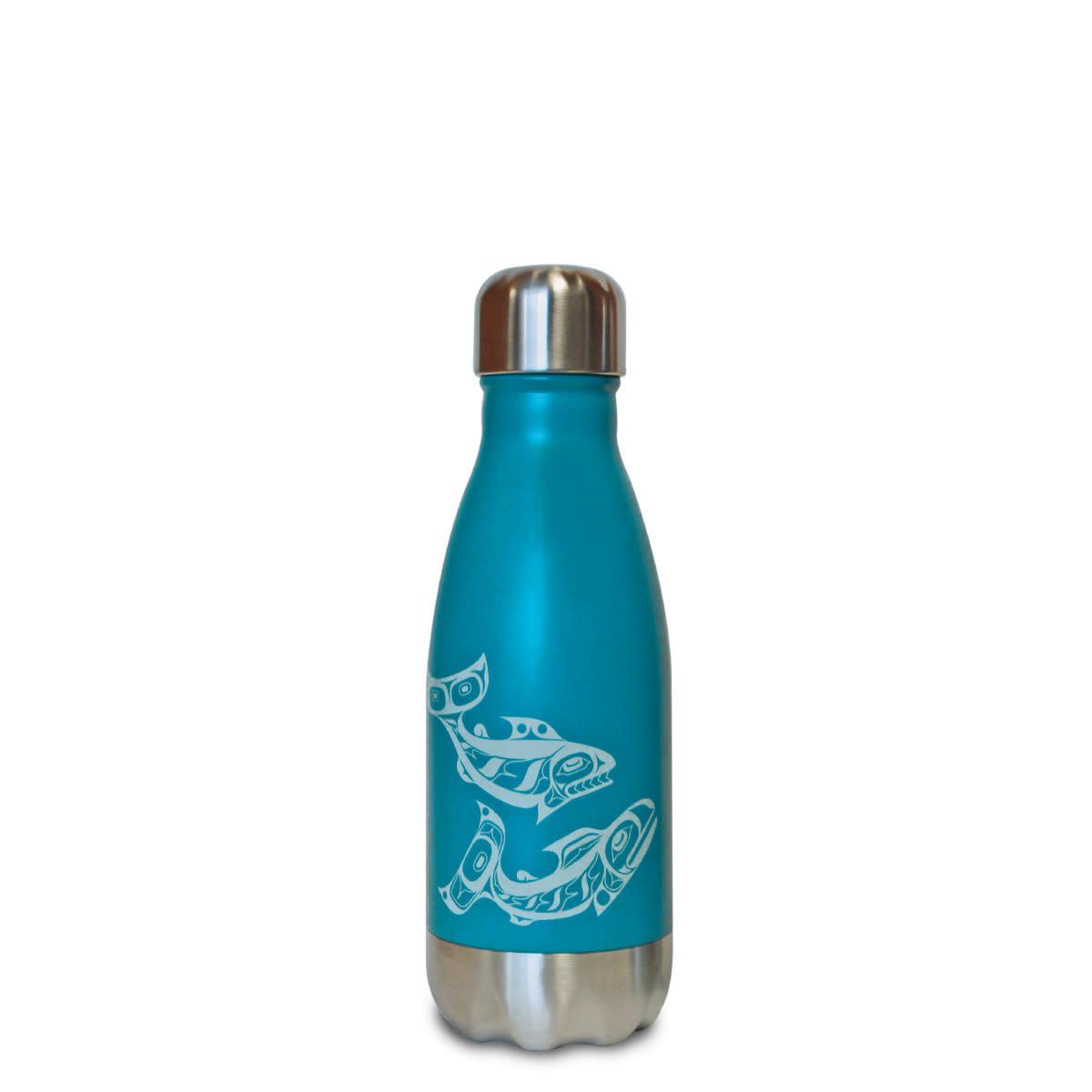 Insulated 9 oz Bottle - Salmon by Allan Weir-1