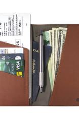 Travel Wallet - Brown