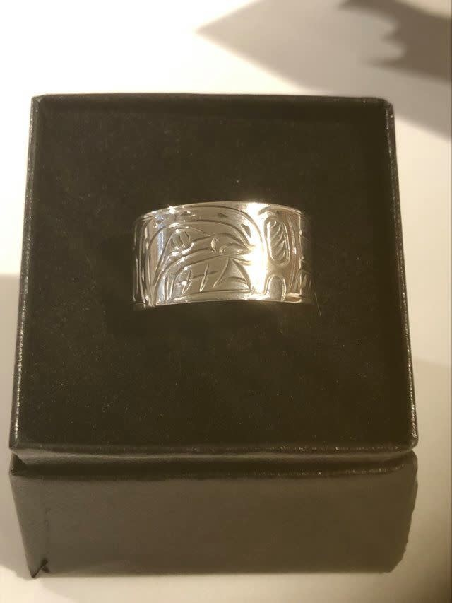 Hand carved silver rings by Nancy Dawson-5