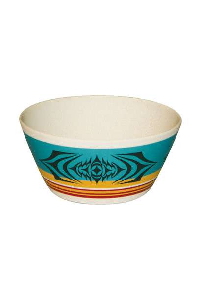 "Bamboo Bowl 5""- Salish Sunset by Simone Diamond"