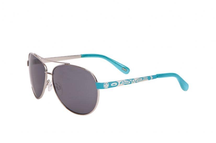 Victoria Thunderbird Aviator Sunglasses-1