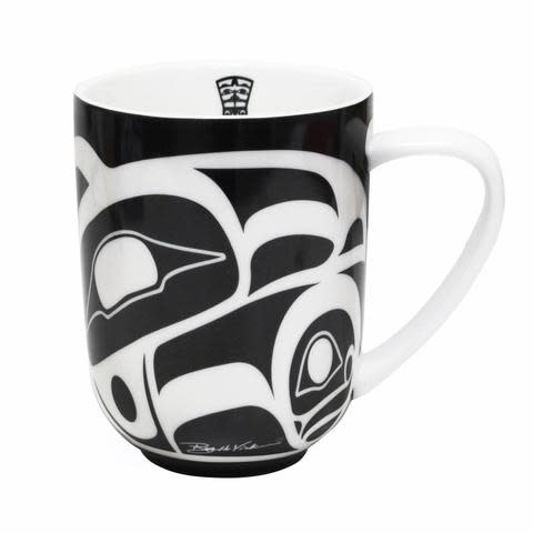 Porcelain Mug - Raven by Henry Roy Vickers-1