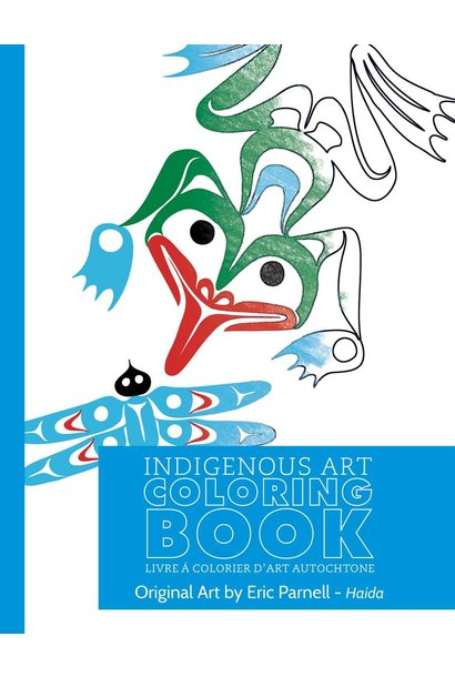 Colouring book - Eric Parnell - Haida