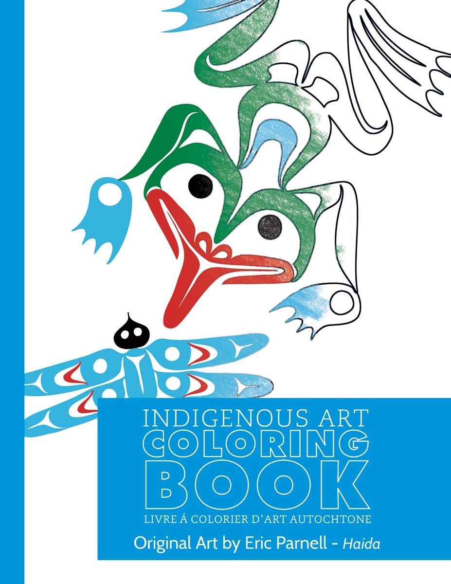 Colouring book - Eric Parnell - Haida-1