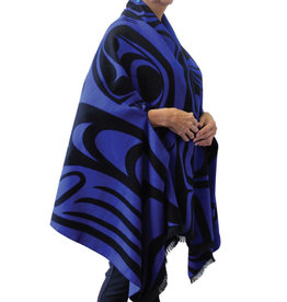 Reversible Cape - Spirit Wolf by Paul Windsor